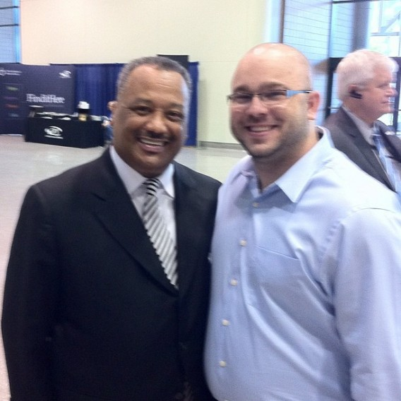 David with Fred Luter